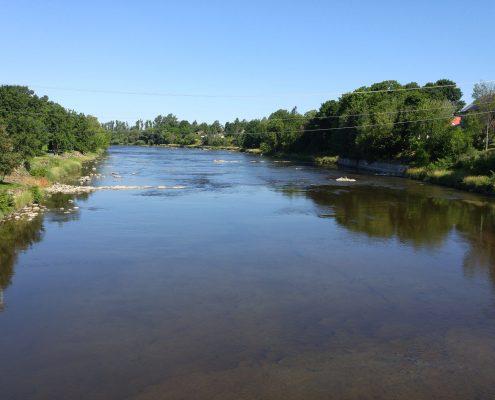 Rivière Etchemin, Saint-Henri, 2016