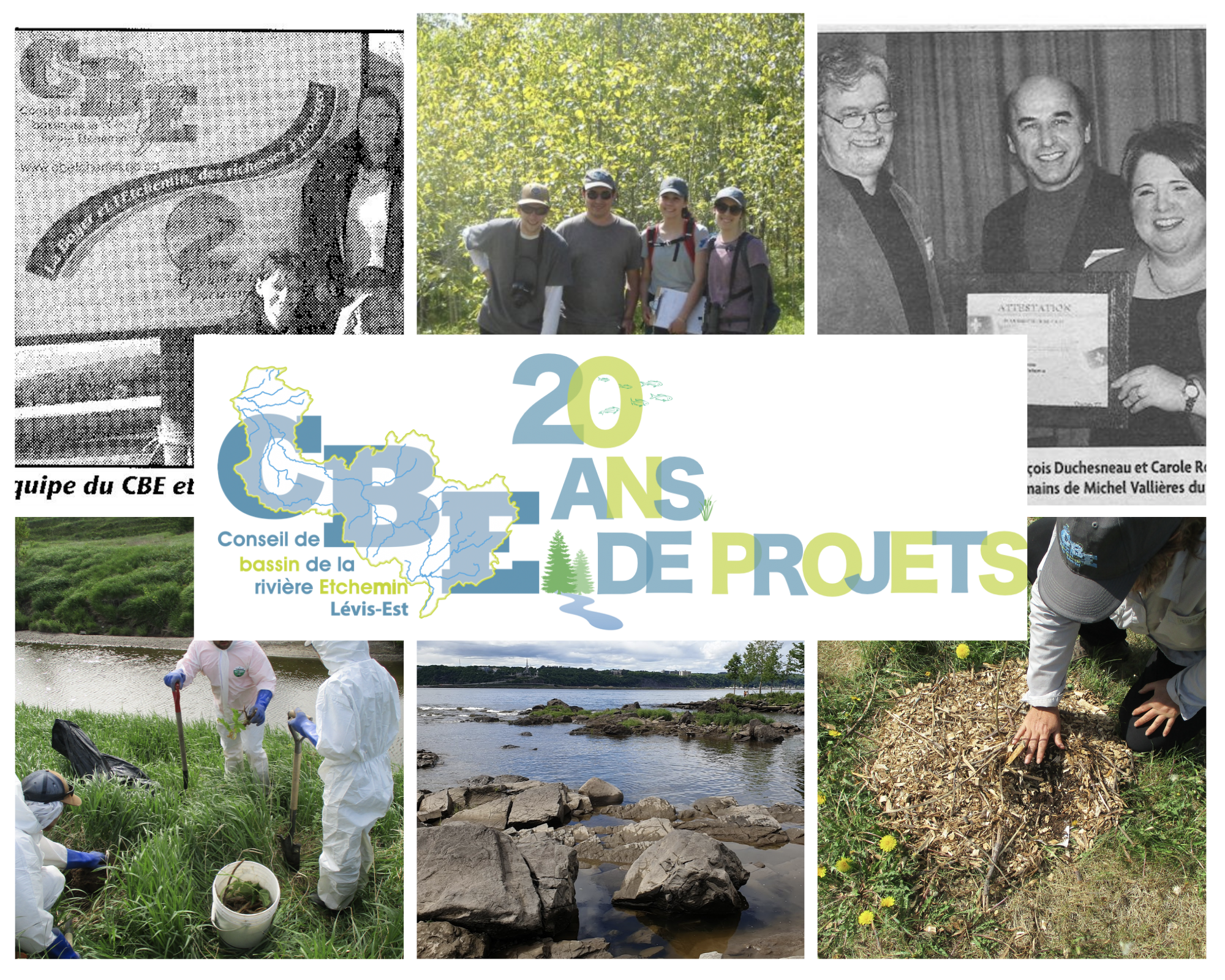 20 ans de projets CBE